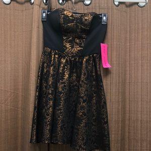 Strapless Betsey Johnson Dress